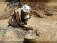 Thousands of mines cleared by MASAM in Marib, Saada, Yemen