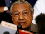 Malaysian Prime Minister Mahathir Mohamad calls for China's help  ..