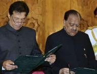 New Pakistani Government Led by Prime Minister Imarn Khan Sworn I ..