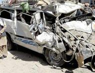 Two died, 14 injured in road accident in Dir