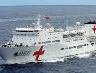 Chinese hospital ship Ark Peace ends visit to Tonga