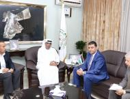 UAE Ambassador meets with Jordanian Minister of Agriculture in Am ..