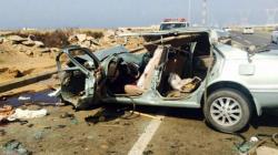 قتل 4 شخصا و أصیب5 في حادث سیر في المملکة العربیة السعودیة