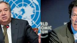 الأمين العام للأمم المتحدة يهنىء عمران خان على انتخابه ..
