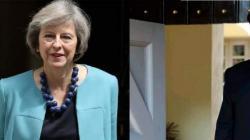 رئيسة الوزراء البريطانية تجري اتصالاً هاتفياً مع زعيم حزب ..