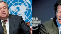 الامین العام لأمم المتحدة یھنئي عمران خان علي انتخابہ لرئیس ..