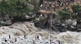 Heavy rain causes flood in streams, water channels in Chitral
