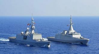 البحرية المصرية تنفذ تدريبات بالبحرين الأحمر والمتوسط ..
