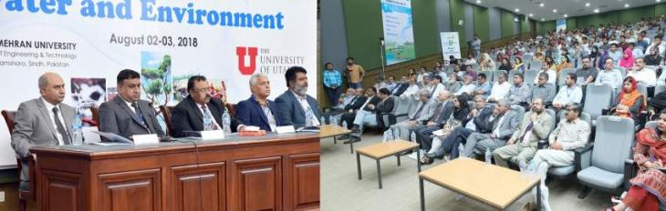2nd Two-Day Young Researchers' National Conference on Water and Environment Concluded at MUET Water Center