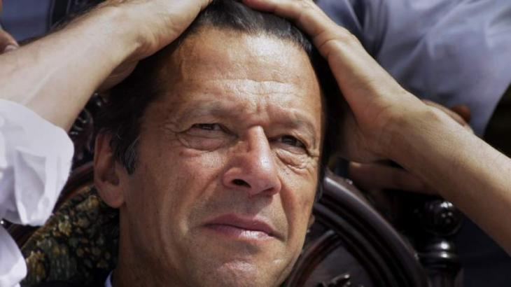 ECP halts Imran Khan's victory notification from all five constituencies