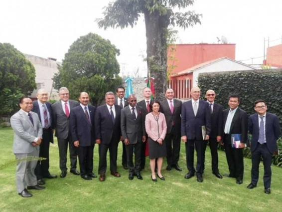 UAE ambassador to Mexico attends meeting of non-resident ambassadors to Guatemala