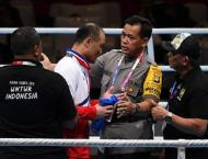 North Korea boxing coaches kicked out of Asian Games for ring pro ..