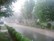 Isolated thunderstorm, rain expected; no major activity reported: ..