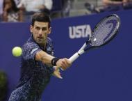 The US Open quarter-final between Novak Djokovic and John Millman ..