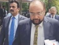 Khawaja Haris continues cross-examination of Wajid Zia
