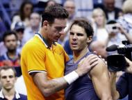 Del Potro into US Open final as Nadal quits with knee injury