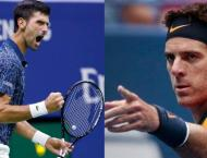 Del Potro, Djokovic in US Open final as Nadal quits with knee inj ..