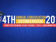 """COTHM Karachi Holds Its 4th Annual Convocation With The Theme """" .."""
