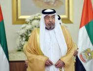 Khalifa confers Independence Order on Egyptian ambassador