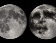 The 'man in the moon' illusion is caused by lunar swirls, new stu ..