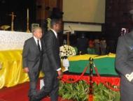 Final farewell to UN's Kofi Annan at Ghana state funeral