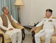 Chief Of The Naval Staff Calls On Federal Minister For Defence