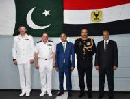 Pakistan Navy Ship Saif Visits Port Alexandria (Egypt), Conducts  ..