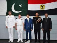 Pakistan Navy Ship SAIF visits port Alexandria, conducts passage  ..