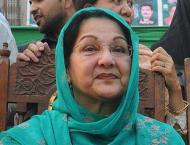 Begum Kulsoom laid to rest, Qul on Sunday