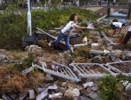 Massive clean-up in Hong Kong after typhoon brings trail of destr ..