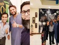 Shahid Afridi calls on UK authorities to discuss his NGO's proj ..
