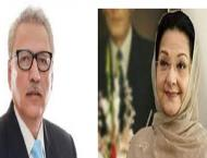 President condoles with Shahbaz over Kulsoom's demise