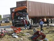 S. African bus crash kills 11 people, injures over 30