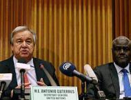 UN chief praises meeting of Djibouti, Eritrea