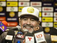 Maradona makes Mexico debut with 4-1 win