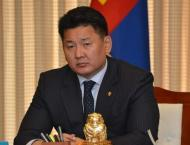 Mongolian PM to visit U.S. to boost ties