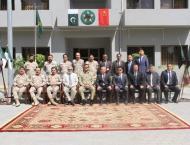 Chinese delegation, UNODC representatives visit ANF HQ