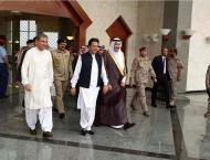 Prime Minister Imran Khan arrives Saudi Arabia