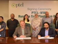 PTCL signed a MoU with WWF-Pakistan