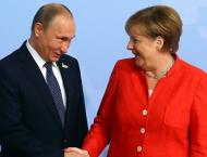 Putin, Merkel Discussed Overcoming Negative Trends on World Finan ..