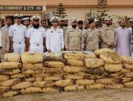Joint Anti-Narcotics Operations At Sea: Pakistan Navy & Pakistan  ..