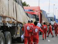 Syrian Arab Red Crescent Delivers Humanitarian Cargo to Daraa Pro ..