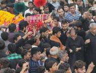 9th of Muharram observed with due sanctity in Islamabad