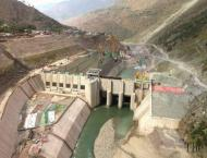 Work on construction of 69MW Lawai hydel power station in full sw ..