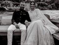 Sonam Kapoor feels like a princess wearing birthday present by mo ..