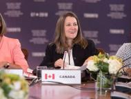 Canada hosts first meeting of women foreign ministers