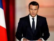 Macron Calls on Macedonians to Support Agreement on Country's Ren ..