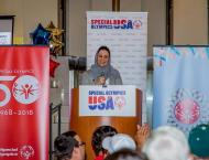 US Special Olympics athletes preparing for World Games Abu Dhabi  ..