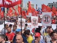 About 3,000 Attend Moscow Rally Against Changes to Russian Pensio ..