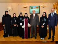 Amal Al Qubaisi discusses cooperation with Mayor of St Petersburg